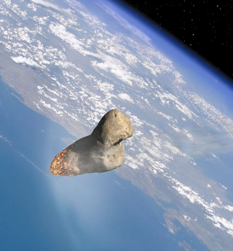 The asteroid Apophis is expected to make a close encounter with earth in 2029.